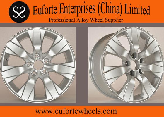 China OEM Caps 17inch Hyper Silver honda alloy wheels / honda accord wheels distributor