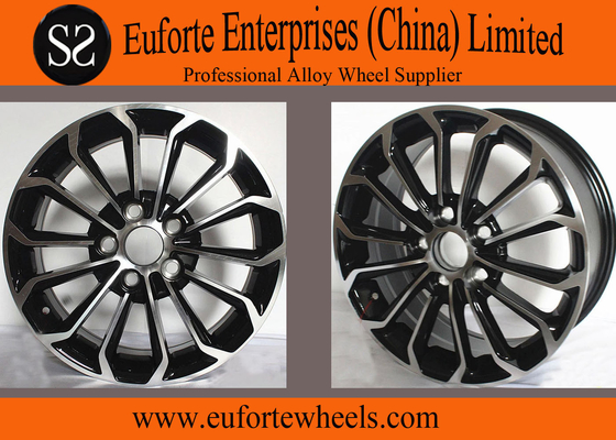 China 15inch Toyota Replica Wheels For Corolla With Hyper Silver OEM Caps distributor