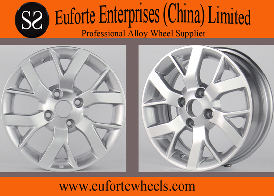 China 14inch Nissan Replica Wheels Silver 15 inch car wheels For SUNNY distributor