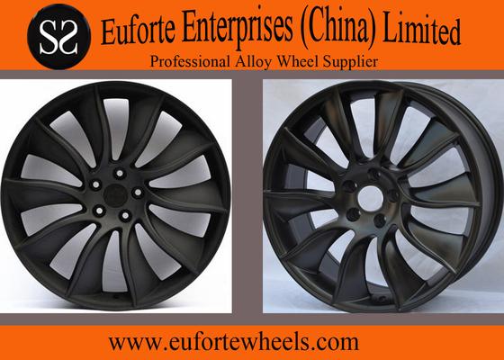 China Black Aluminum Alloy Nissan Replica WheelsFor Infiniti FX35 , 21 inch wheels distributor
