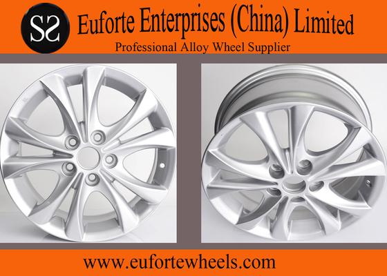 China Hyper Silver Replica Classic Japanese Wheels Aluminum Alloy Mazada CX7 Wheels distributor