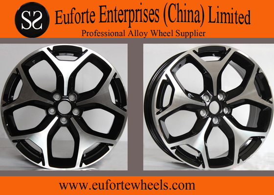 China TUV 18inch Japanese Wheels Black Machine Face Replica Wheels distributor