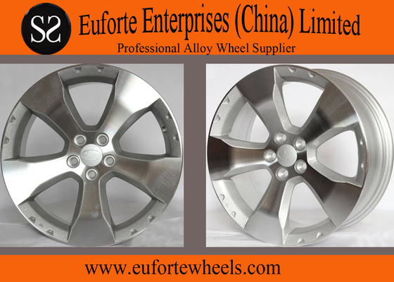 China 5 x 100 PCD 17 inch Japanese Wheels / Aluminum Alloy Forester Wheels distributor