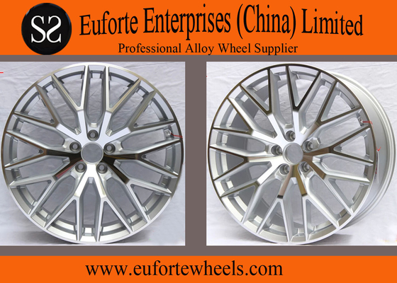 China Hyper Silver Replica Audi Alloy Wheels for  Audi A8L  / Vehicle Wheels distributor