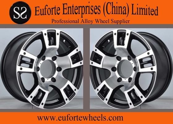 China Aluminum Alloy  8x16 4x4 Off Road Wheels 5 Spokes / SUV Rims distributor