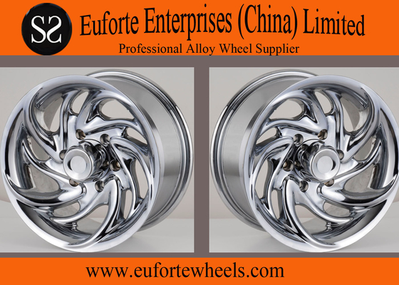 China Chrome Concave 4x4 Off Road Wheels Aluminum Alloy Off Road Truck Wheels distributor