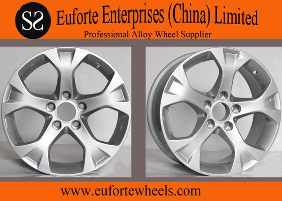 China Hyper Silver BMW Replica Wheel 17inch  for X1 Car Alloy Wheels Rims distributor