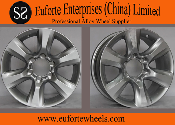 """China 22""""  Silver SUV toyota 4 x 4 wheels PRADO 30 ET /  Black SUV Rims distributor"""
