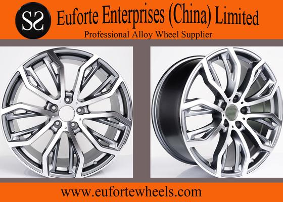 China 21 inch X5 X6 BMW Replica Rims 20inch / Aluminum Alloy Wheels distributor