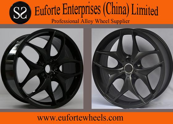 China 22 inch Black X5 BMW Replica Wheel, 20inch Hyper Silver BMW X5 X6 Aluminum Alloy Wheels distributor